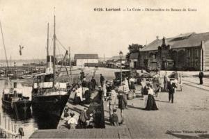 Lorient bateau de Groix