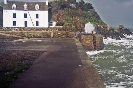 tempête d`hiver sur Port Lay